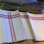 En vacker handduksräcka i linne. Bästa skick! - En hel handduksräcka i linnelärft
