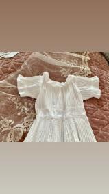 En söt dopklänning i fint skick! - En fin dopklänning i bomull