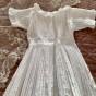 En söt dopklänning i fint skick!