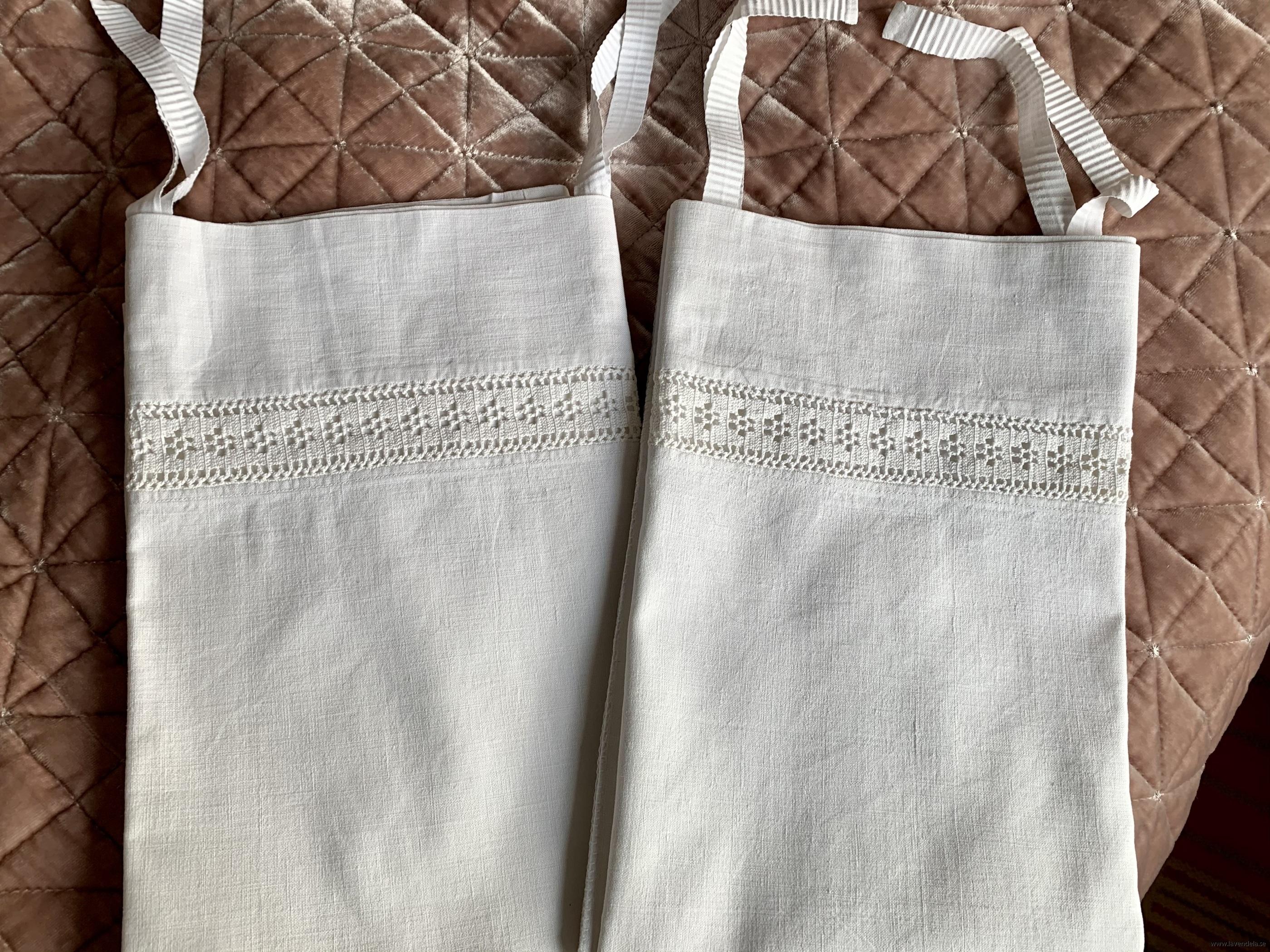 I linne med handvirkade