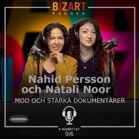 #67 Videopodd med dokumentärfilmaren Nahid Persson Sarvestani. Klicka på bilden för att  se och lyssna!