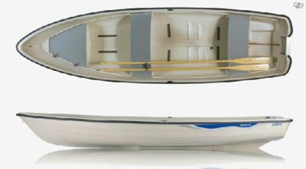 Roddbåt 4m - rekomenderas för 3 personer