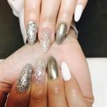 glitter och silver