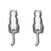 Örhängen, katter med svängade svans