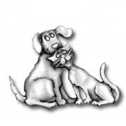 Bästa vänner - Hund och katt