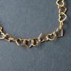 Guldförgyllda hjärtan, armband