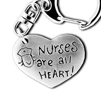 Nyckelring till finaste sjuksköterskan