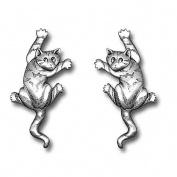 Klättrande katter, örhängen i tenn