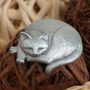 Vacker sovande katt