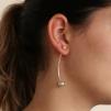 Cissi - Stilrena silverörhängen i snygg design