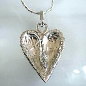 Felicia - Vackert hjärthalsband i silver