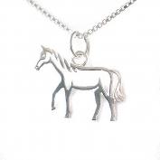 Hästhänge i silver