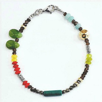 Hope - Underbart armband med äkta stenar
