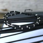 My way - Armband med mängder av silverpärlor
