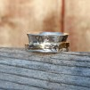 Jenny - Spinningring i silver