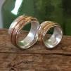 Nova - Spinningring med guldband