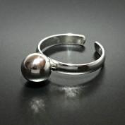 Disa - Ställbar silverring med kula