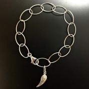 Elly - Änglavinge, silverarmband