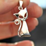 Stiliserad vacker katt - Silverhänge