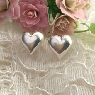 Malva - Små bulliga silverhjärtan