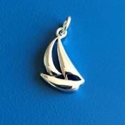 Hänge - Segelbåt i silver