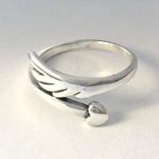 Heart & Wing - Silverring