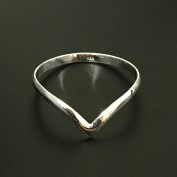 Liza - Stilren och enkel silverring