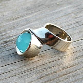 Abigail - Skönt designad silverring