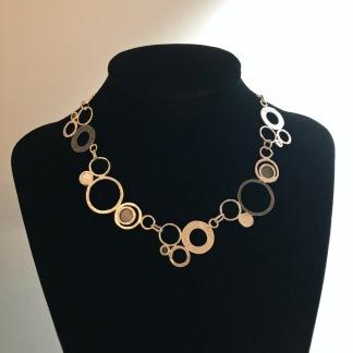Sibylla - Vackert designat silverhalsband
