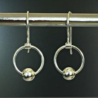 Gemini - Silverörhängen