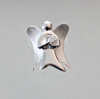 Mycket vacker silverängel - Hänge