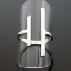 Harlow - Stilren ring i silver