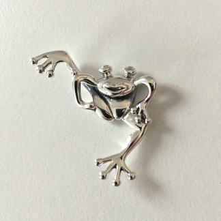 Goaste grodan, hänge i silver
