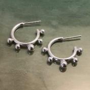Belle - Silverörhängen med kulor