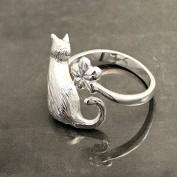 Abby - Justerbar kattring i silver