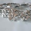 Silver flower - Ljuvligt halsband
