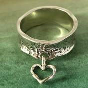 Stella -  Silverring med hjärta