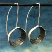 Kimberly - Råsnygga silverörhängen