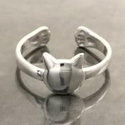 Missen - Ställbar kattring i silver
