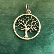 Livets träd - hänge i silver