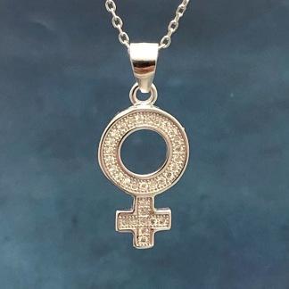 Venus - Halsband med kristaller