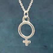 Venus - Halsband med stor kvinnosymbol