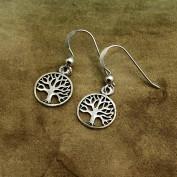 Livets träd - Mindre silverörhängen