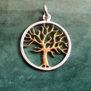 Livets träd - Guldplätering och silver