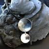 Luna - Stilrent och snyggt silverhalsband