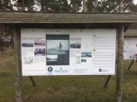 Vid ordinarie infart till Rinkaby läger, finns det två informationstavlor som handlar om Baltlägren i Rinkaby och i Gälltofta. Värt att besöka.