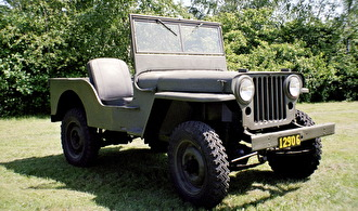 Terrängbil 1/2 t (Willys Overland Jeep CJ2)