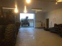 Garagering på gång.