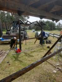 Den 22/6 genomfördes renovering av Museets informationsskyltar i Rinkaby.  Fortsättning följer i augusti.