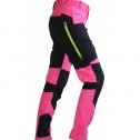 Stretch pants LADY Black/Pink